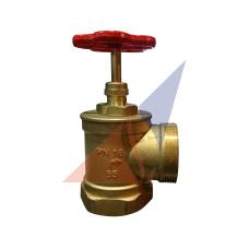 Краны, вентили пожарные Кран латунный ПК-65 угловой (вн-нар)