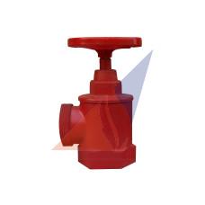 Краны, вентили пожарные Кран угловой композитный ПК-50