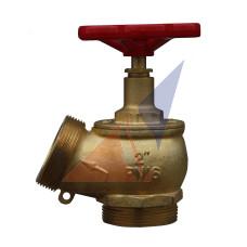 Краны, вентили пожарные Кран угловой латунный ПК-50 (нар-нар)