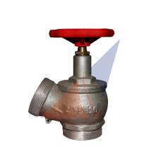 Кран (вентиль) алюминиевый ПК-50 угловой  125˚(нар-нар)