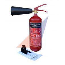 Углекислотные огнетушители Огнетушитель ВВК 1,4 (ОУ-2)