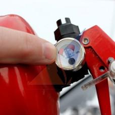Перезарядка огнетушителей Замена манометра (индикатора давления)