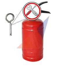 Перезарядка огнетушителей Замена чеки огнетушителя