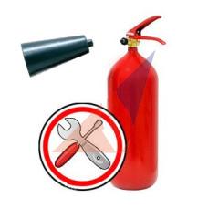 Перезарядка огнетушителей Замена раструба к углекислотному огнетушителю