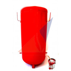 Покраска передвижного огнетушителя