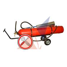 Перезарядка огнетушителей Техническое обслуживание ОУ-40(ВВК-28)