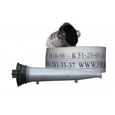 Рукав кран Ø51 с гайками ГР-50 и стволом РС 50 КМБ