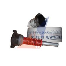 Рукав кран Ø66 с гайками ГР-70  и стволом РС 70 КМБ