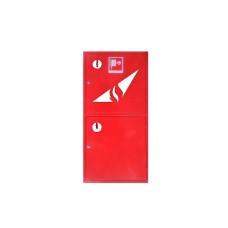 Шкаф пожарный 1200*600*230 двустворчатый с полкой без задней стенки