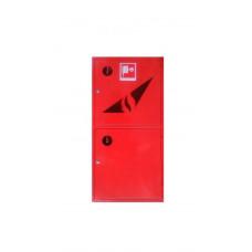 Шкаф пожарный 1200*600*230 двустворчатый с полкой с задней стенкой