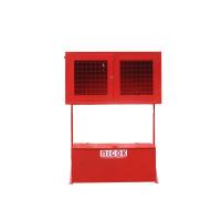 Стенд пожежний закритого типу (решітка) з стаціонарним ящиком