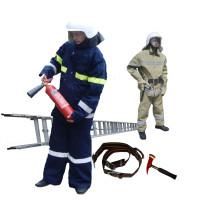 Одежда пожарного, экипировка и спас оборудование