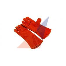 Перчатки огнестойкие спилковые, прошиты кевларовой ниткой