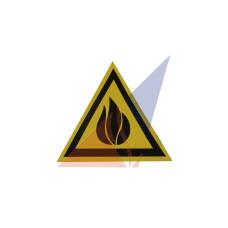 Предупреждающие знаки Осторожно ! Легковоспламеняющиеся вещества