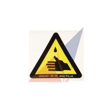 Предупреждающие знаки Осторожно ! Едкие вещества