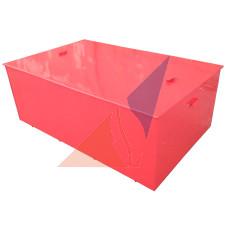Металлические стенды, ящики для песка Ящик для піску 0,5 м³ (800В * 1025ш * 500Д)