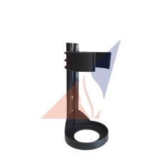 Крепления, подставки, держатели к огнетушителям Кріплення настінне до ОП-2 (пластикове)
